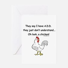 ADD Chicken Greeting Cards