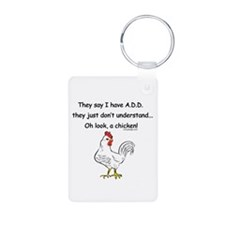 ADD Chicken Keychains
