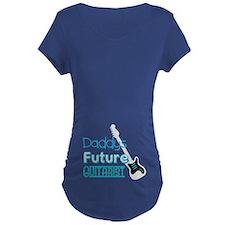 Daddys future guitarist Maternity T-Shirt