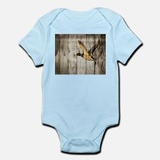 barnwood wild duck Body Suit
