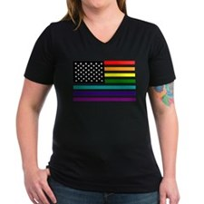 UNITED STATES OF EQUALITY RAINBOW FLAG T-Shirt