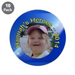 """Hannah 2014 3.5"""" Button (10 Pack)"""