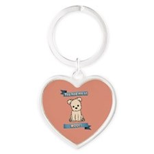 You had me at WOOF! Keychains
