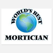 World's Best Mortician Invitations