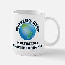 World's Best Multimedia Graphic Designer Mugs