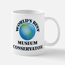 World's Best Museum Conservator Mugs