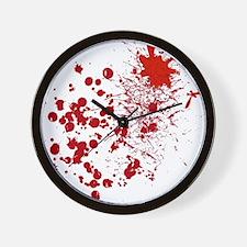 So Much Blood! Wall Clock
