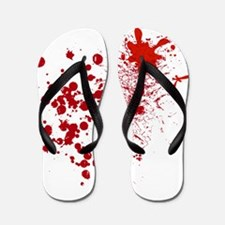 So Much Blood! Flip Flops