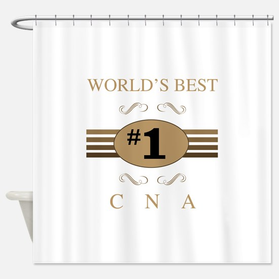 World's Best CNA Shower Curtain