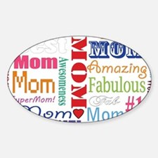 Text Mom Decal