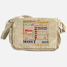 Text Mom Messenger Bag