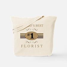 World's Best Florist Tote Bag