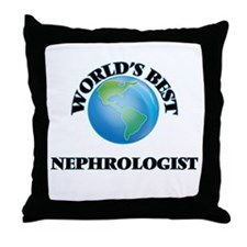 World's Best Nephrologist Throw Pillow