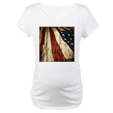 grunge USA flag Shirt