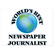 World's Best Newspaper Journalist Invitations