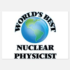 World's Best Nuclear Physicist Invitations