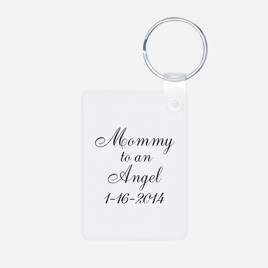 Personalizable Mommy to an Angel Keychains