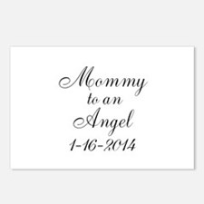 Personalizable Mommy to an Angel Postcards (Packag