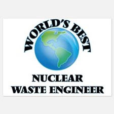 World's Best Nuclear Waste Engineer Invitations
