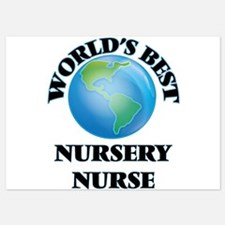World's Best Nursery Nurse Invitations