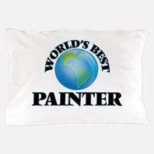 World's Best Painter Pillow Case