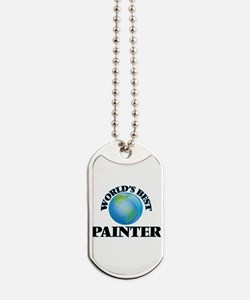 World's Best Painter Dog Tags