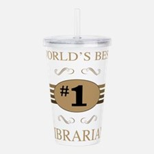 World's Best Librarian Acrylic Double-wall Tumbler