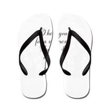Personalizable For a Moment Flip Flops