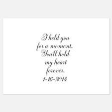 Personalizable For a Moment Invitations