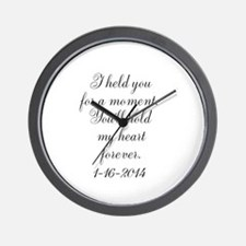 Personalizable For a Moment Wall Clock