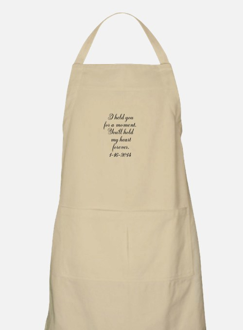 Personalizable For a Moment Apron