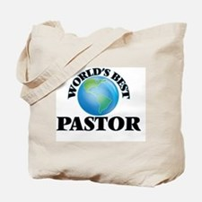 World's Best Pastor Tote Bag