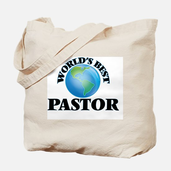 World's Best Pastor Tote Bag