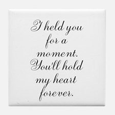For a Moment 2 Tile Coaster