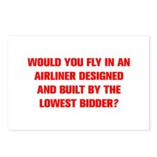 WOULD YOU FLY IN AN AIRLINER DESIGNED AND BUILT BY