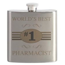 World's Best Pharmacist Flask