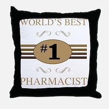 World's Best Pharmacist Throw Pillow