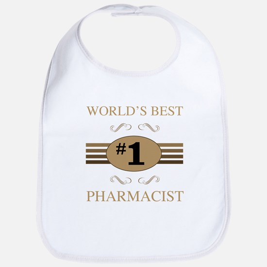 World's Best Pharmacist Bib