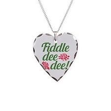 Fiddle dee dee GWTW Necklace