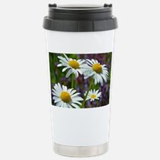 White spring daisies Travel Mug
