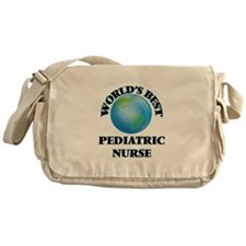 World's Best Pediatric Nurse Messenger Bag