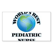 World's Best Pediatric Nurse Decal