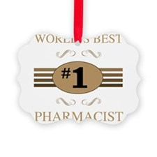 World's Best Pharmacist Ornament