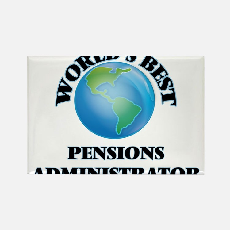 World's Best Pensions Administrator Magnets