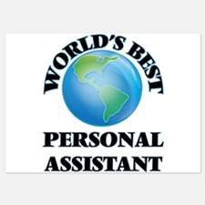 World's Best Personal Assistant Invitations