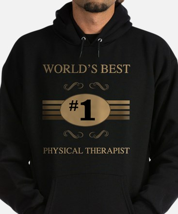 World's Best Physical Therapist Hoodie (dark)