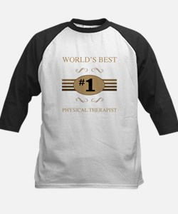 World's Best Physical Therapist Baseball Jersey