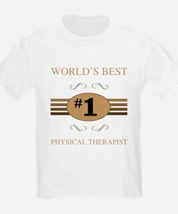 World's Best Physical Therapis T-Shirt