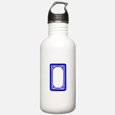 Blue Dragon Tile Water Bottle