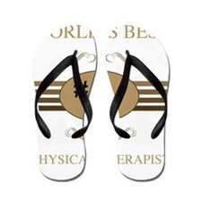 World's Best Physical Therapist Flip Flops